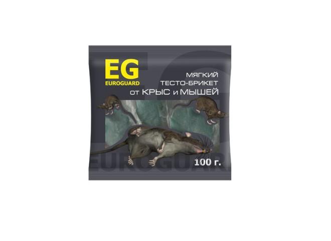 EUROGUARD тесто-брикеты от крыс и мышей 100 г