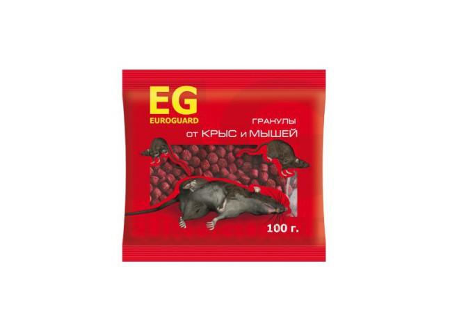 EUROGUARD гранулы от крыс и мышей 100 г