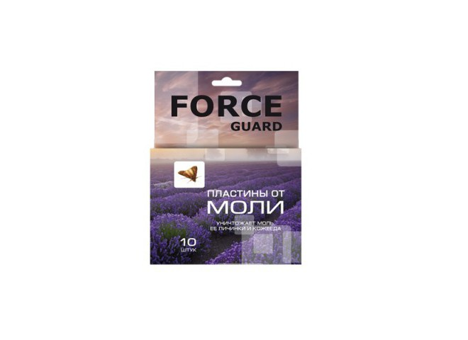 FORCE guard Пластины от моли 10 шт