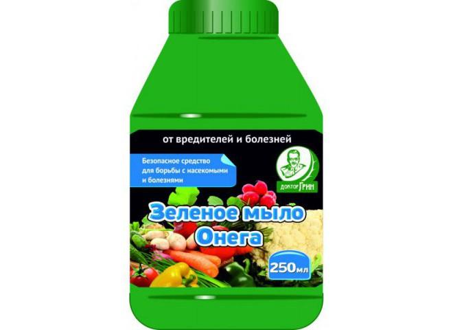 "Зеленое мыло ""Онега"" флакон 250 мл"