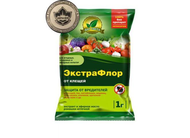 ЭкстраФлор от клещей 1 гр
