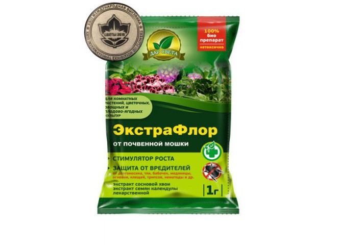 ЭкстраФлор от почвенной мошки 1 гр