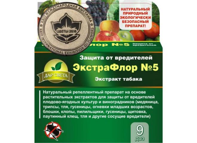 ЭкстраФлор № 5 Экстракт табака упаковка 9 доз