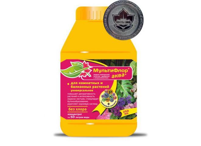 Мультифлор Аква для растений универсальное 250 мл