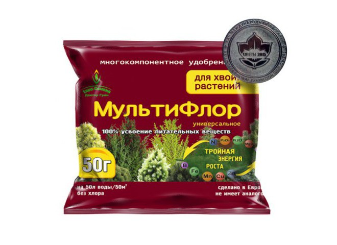 МультиФлор для хвойных растений 50 гр