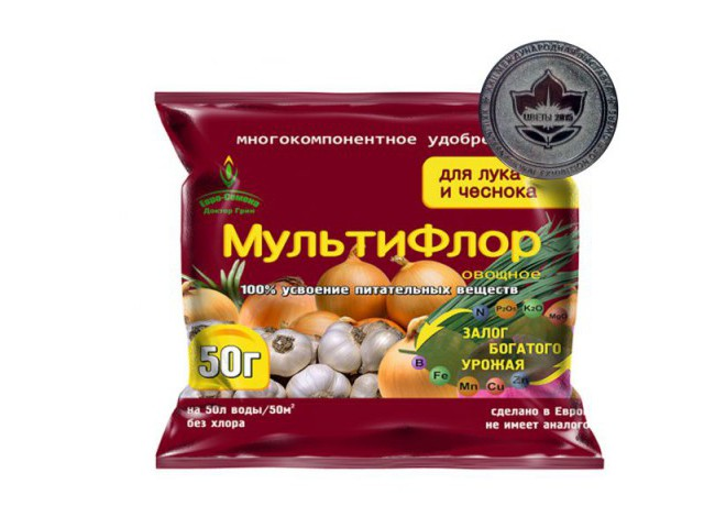 МультиФлор овощное для лука и чеснока 50 гр