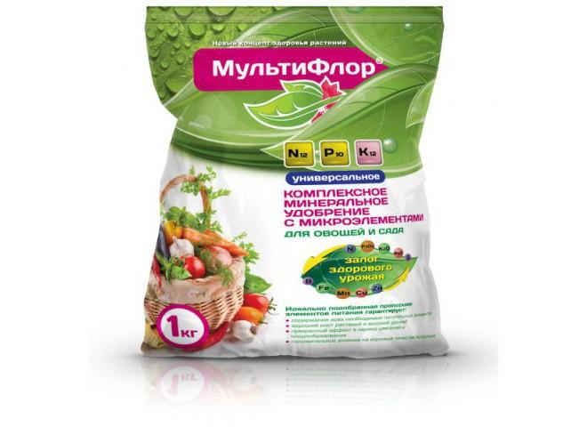 МультиФлор универсальное пакет 1 кг