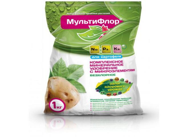 МультиФлор для картофеля пакет 1 кг