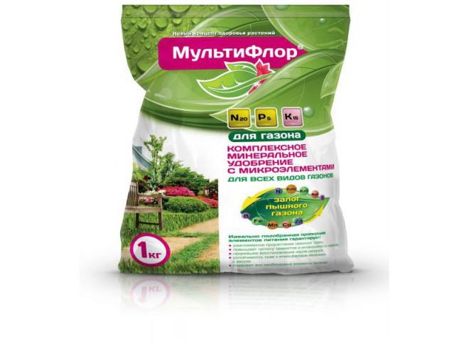 МультиФлор для газона пакет 1 кг