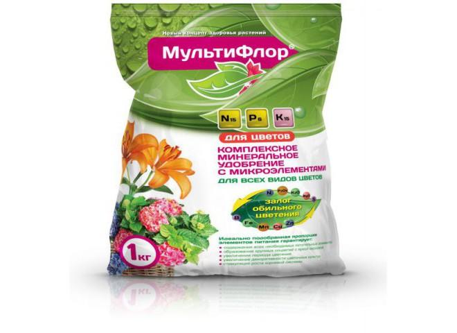 МультиФлор цветочное пакет 1 кг