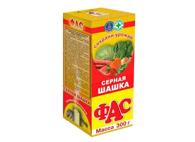 ФАС СЕРНАЯ ШАШКА УНИВЕРСАЛЬНАЯ 300 г